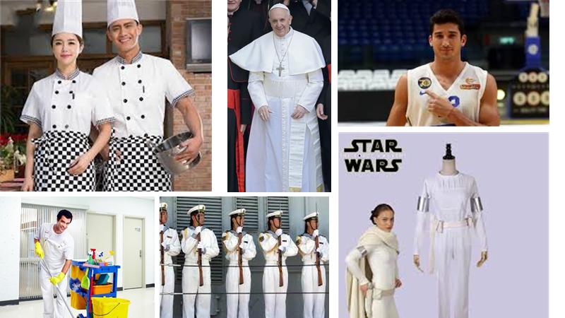 היסטוריה של הצבע הלבן